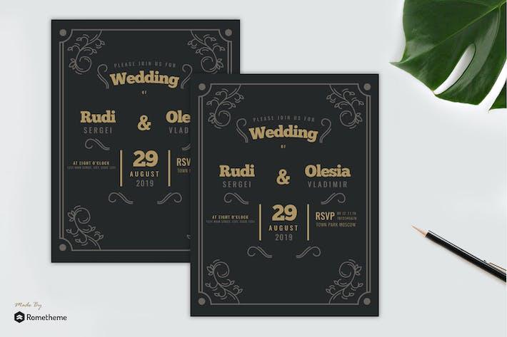 Cover Image For Wedding Invitation vol. 01