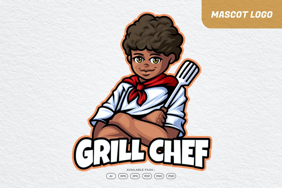 Grill Chef Logo
