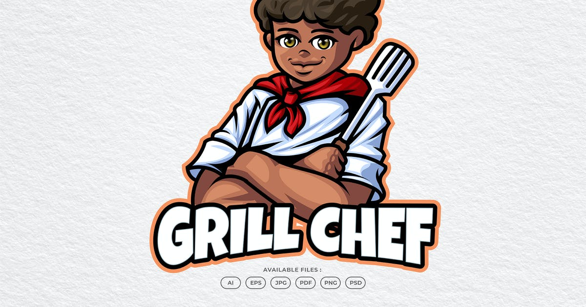 Download Steak Delicious Meat BBQ Chef Logo by yogaperdana7