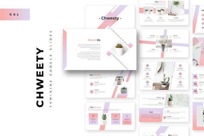 Chweety Feminine Google Slides