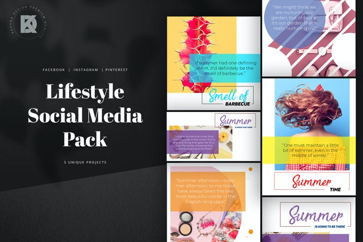 Thumbnail for Lifestyle Social Media Pack