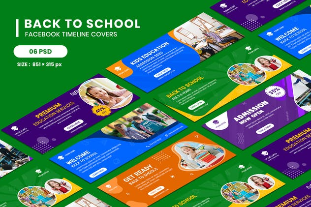 Back to School Facebook Timeline Covers