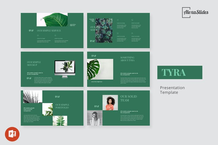 Thumbnail for Tyra - Nature Powerpoint Template