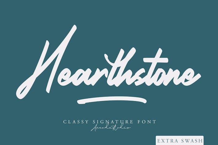 Thumbnail for Hearthstone - Signature Font