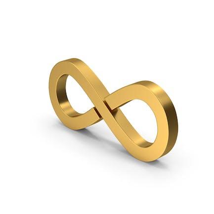 Symbol Infinity Gold