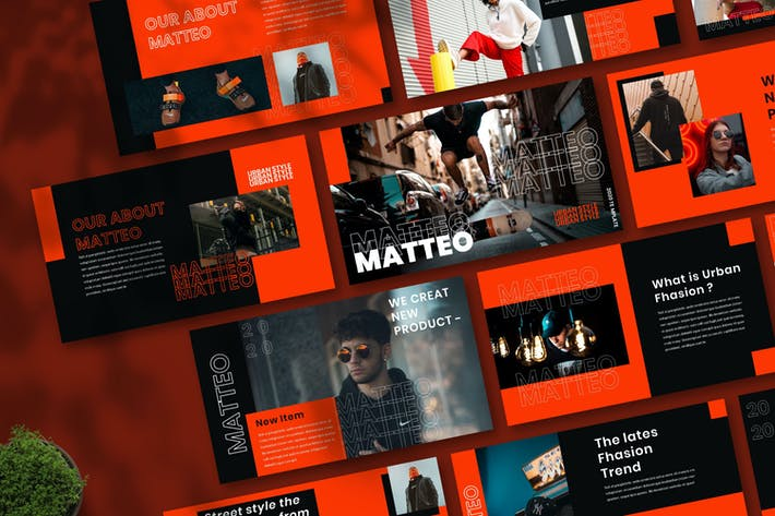 Thumbnail for Mateo - Городской шаблон Powerpoint