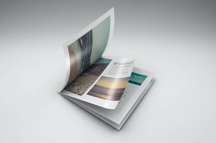 Thumbnail for Square Brochure/ Catalog Mockups