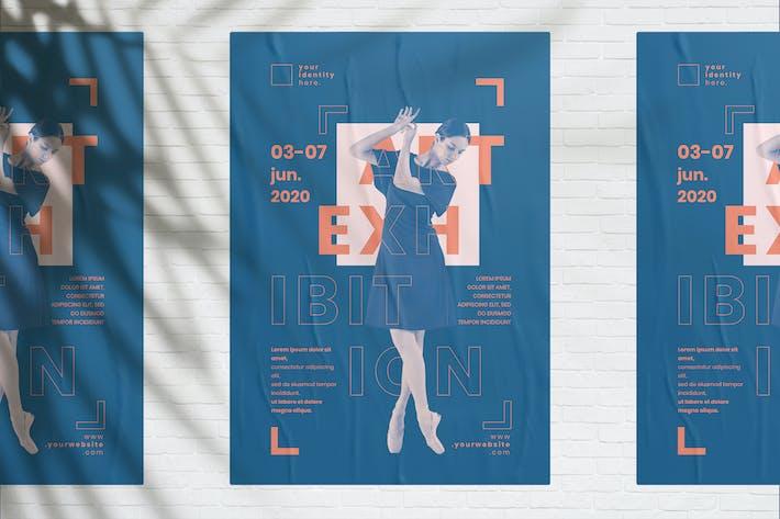 Thumbnail for Art Exhibition Flyer