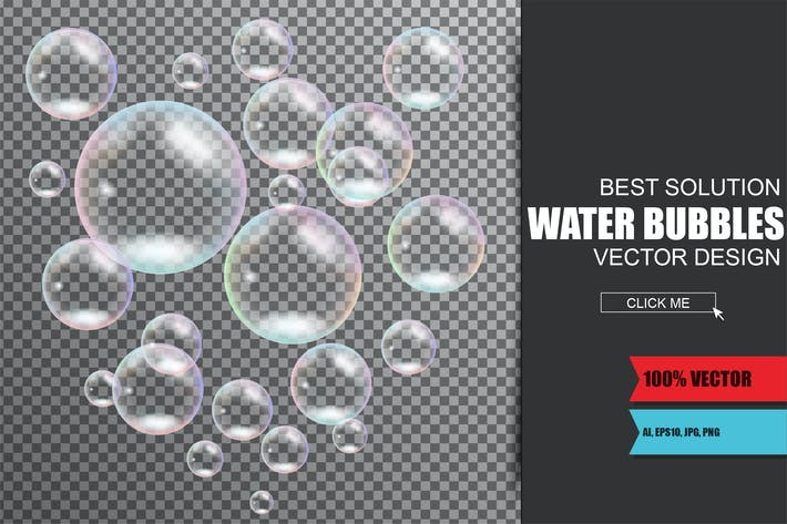 Thumbnail for Realistic Soap And Water Bubbles