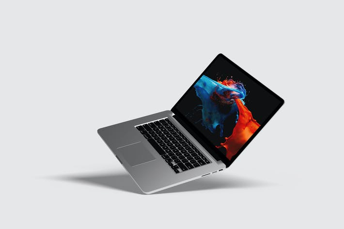 Thumbnail for Macbook Pro Mockup V2
