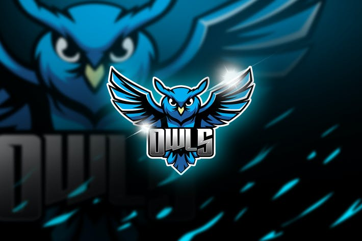 Thumbnail for owls - Mascot & Esports Logo