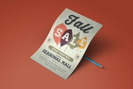 Fall Sale Flyer