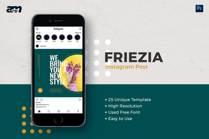 Friezia - Instagram Post