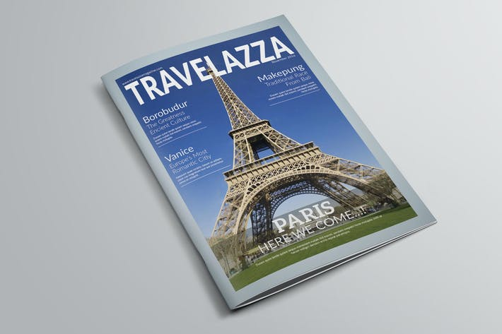 Thumbnail for Travelazza Magazine Templete
