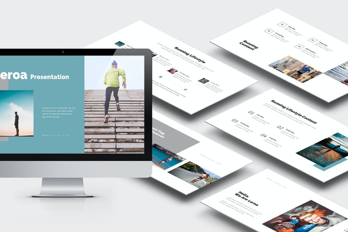 Thumbnail for Leroa : Running Lifestyle Google Slides