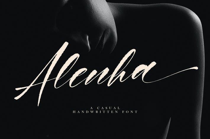 Thumbnail for Alenha Повседневная рукописная