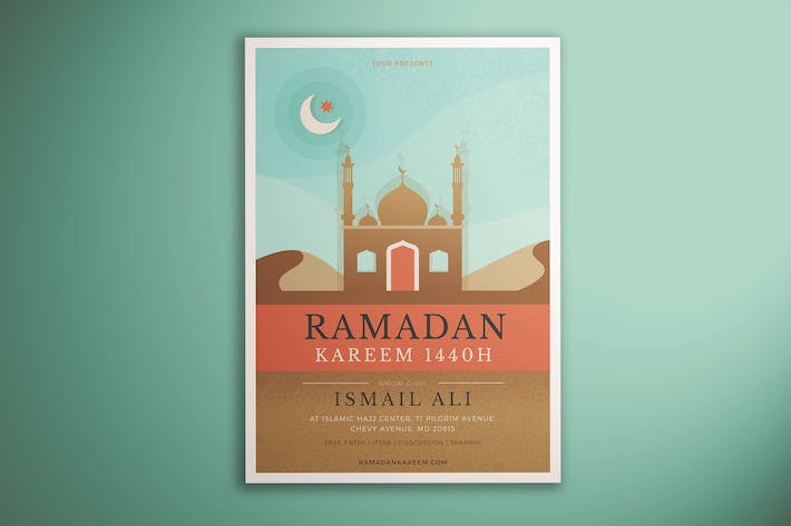 Thumbnail for Ramadan Kareem Flyer Vol. 01