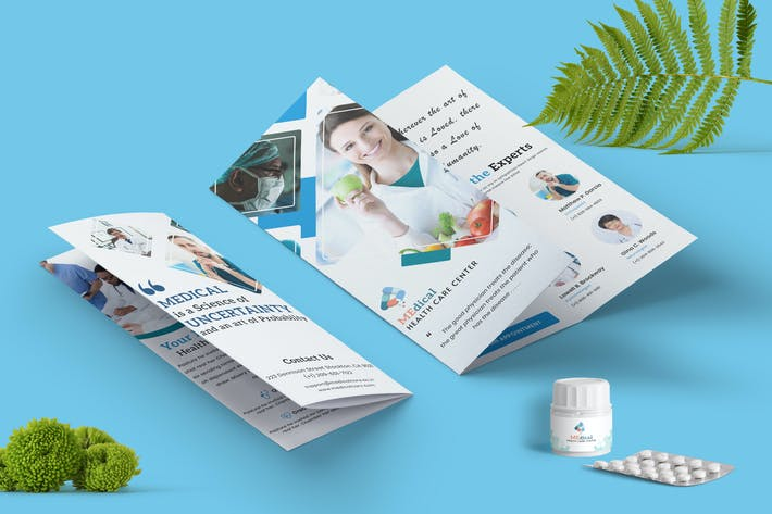 Thumbnail for Medical Brochure Trifold-01