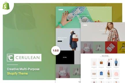 Cerulean - Creative Multi-Purpose Shopify Theme