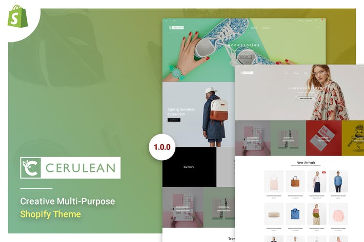 Thumbnail for Cerulean - Creative Multi-Purpose Shopify Theme