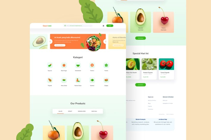 Thumbnail for e-commerce Marketplace Design