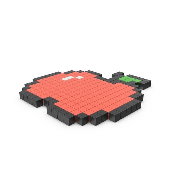 Пиксельный значок Apple