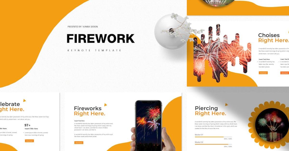 Download Firework   Keynote Template by Vunira