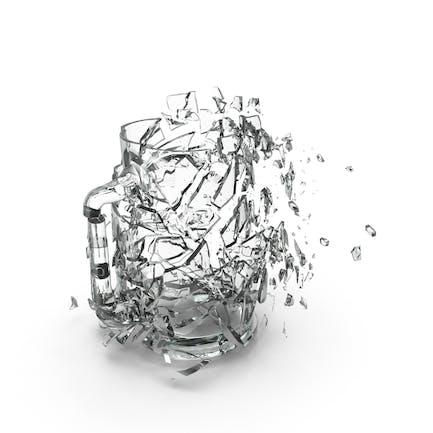 Shattered Pint Glass