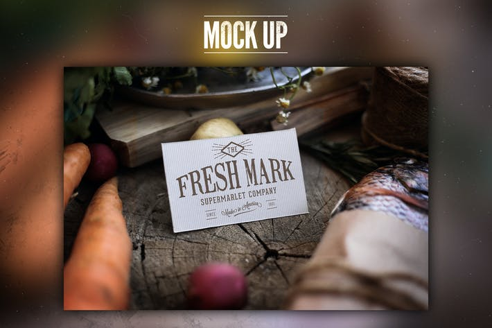 Cover Image For Market fresh Mock Up
