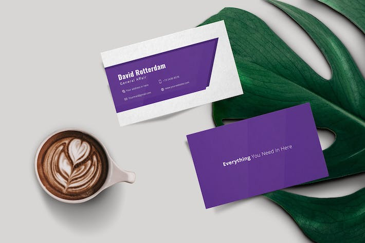 Thumbnail for Corporate Business Card Typica Vol.06