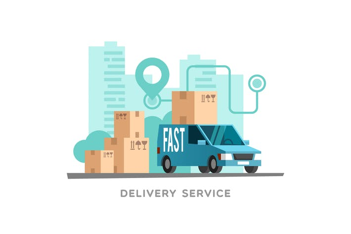 Mode of delivery depends on the client's preference