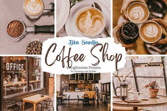 Thumbnail for Coffee Shop Lightroom Presets
