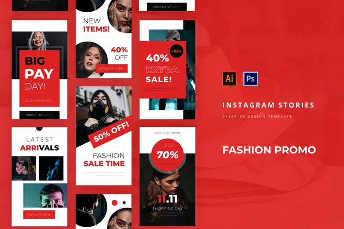 Thumbnail for Fashion Promo Instagram Story