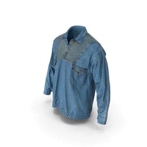 Мужская Жан пуловер