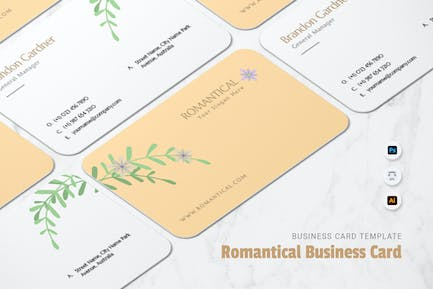 The Romantical Business Card