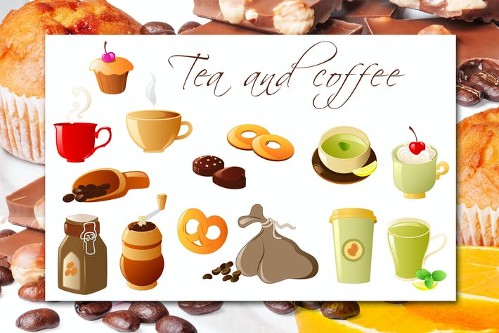 Thumbnail for Coffee and Tea Icons