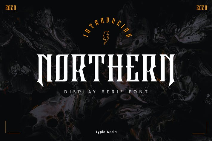 Thumbnail for Police Serif Northern Display