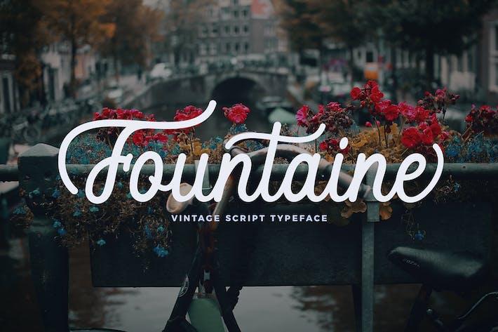Thumbnail for Fountaine Script
