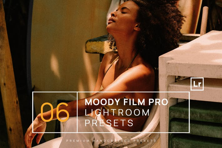 Thumbnail for 6 Moody Film Pro Lightroom Presets + Mobile