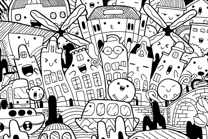 Thumbnail for Amsterdam Doodle