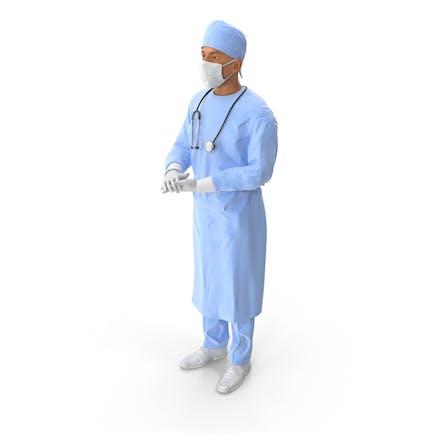 Cirujano masculino