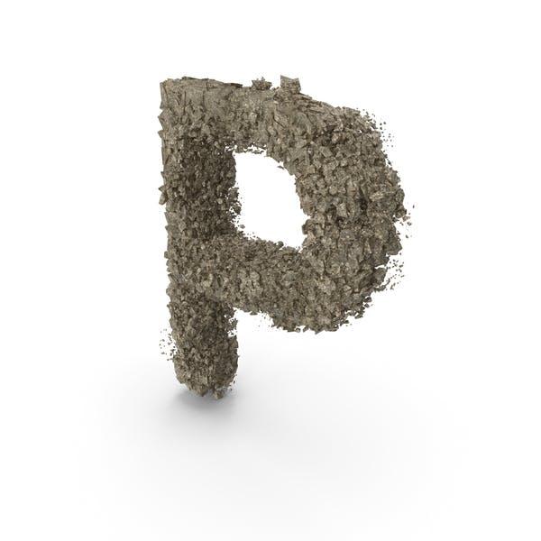 Thumbnail for Destruction Stone Letter P