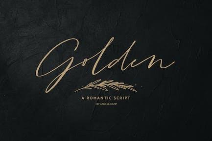 Golden, un guión romántico