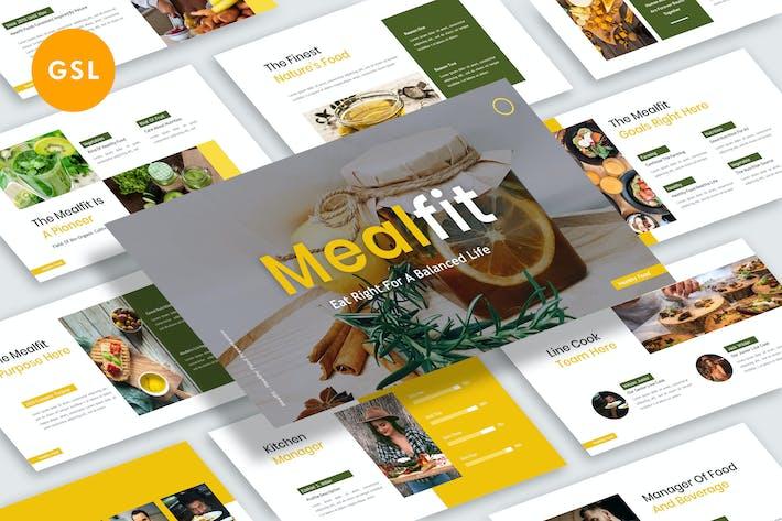 Thumbnail for Mealfit Presentation Google Slide