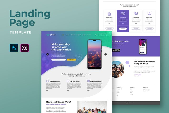 Thumbnail for Mobile App Landing Pages