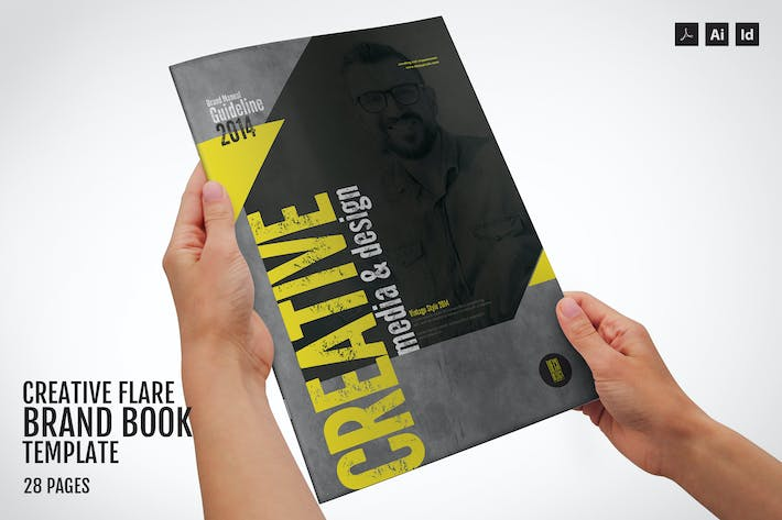 Thumbnail for Creative Flare - Branding Guidelines Template