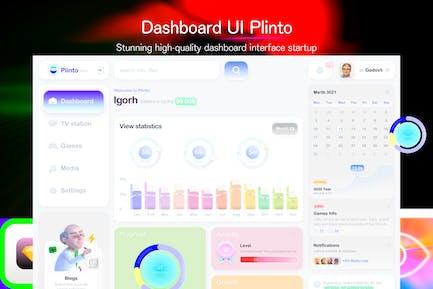 Dashboard UI Plint
