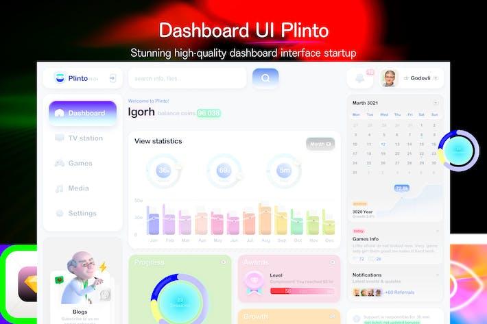 Dashboard UI Plintoconsole