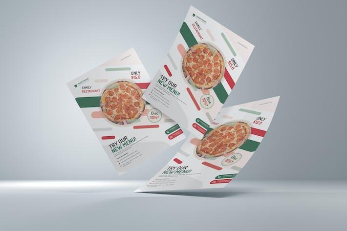 Thumbnail for Pizza Resto Flyer