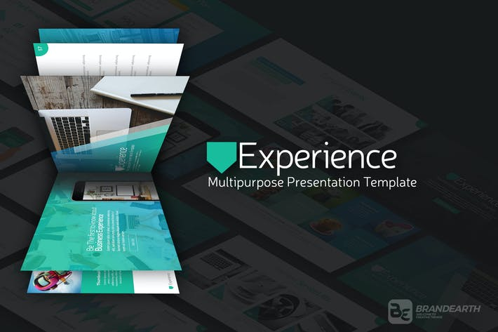 Cover Image For Experience Multipurpose Presentation Template